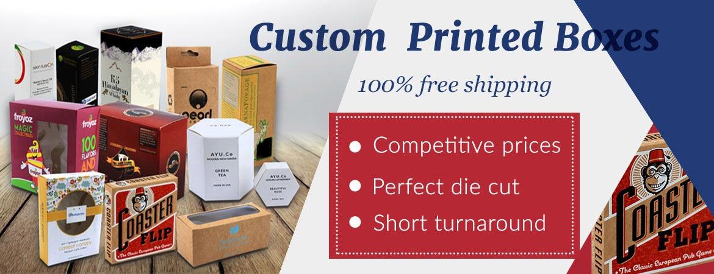 Custom Printed Boxes | Wholesale Customised Kraft & Cardboard